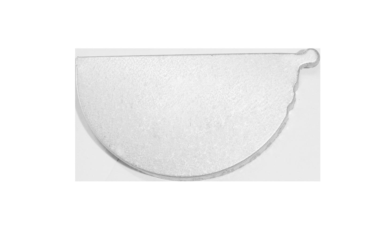 Zincalume 174 Half Round Gutter Stop End Plates Left And