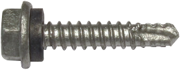 BUILDEX® 25mm Designer Head Screw - Plain unpainted, Hex Sealed